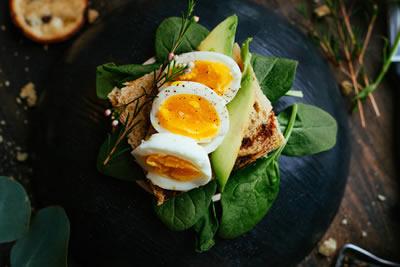 Eggs & Leafy Greens